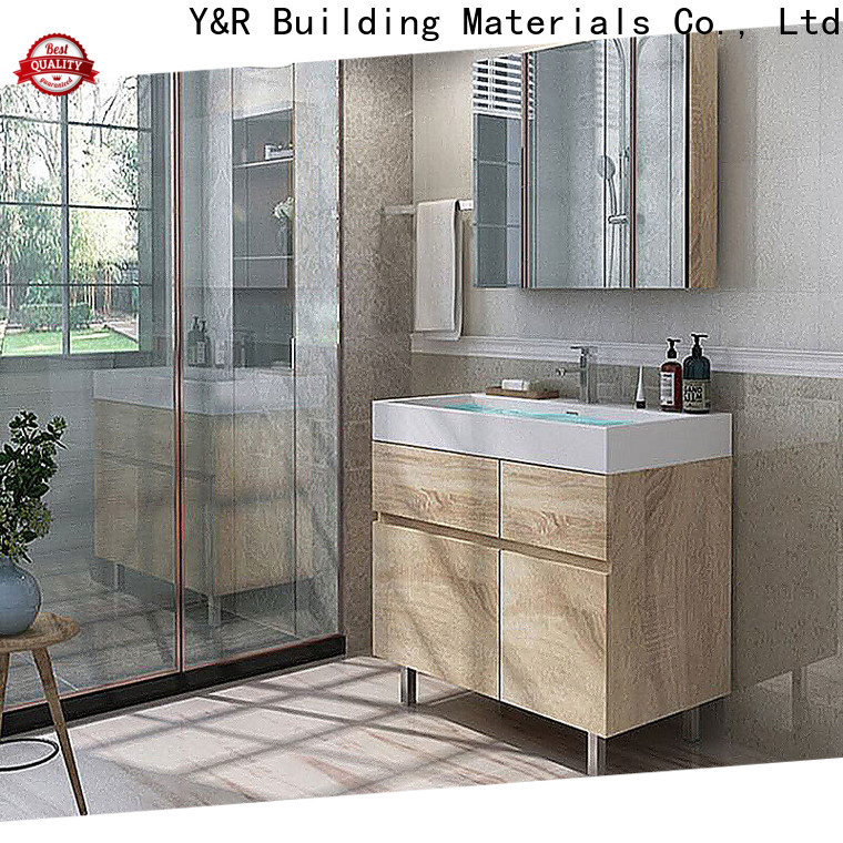 High-quality wall mount bathroom cabinet manufacturers