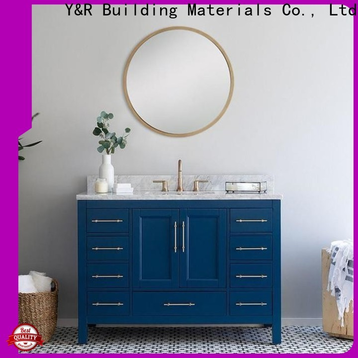 Y&R Building Material Co.,Ltd High-quality high gloss bathroom cabinet factory