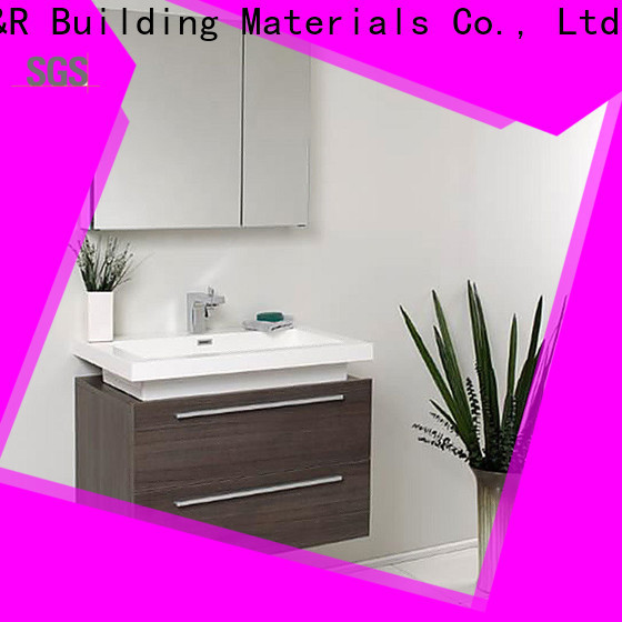 Y&R Building Material Co.,Ltd wall mount bathroom cabinet for business