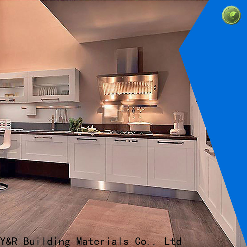 Y&R Building Material Co.,Ltd Latest modern kitchen cabinets factory