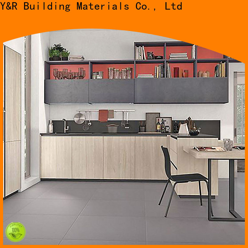 Y&R Building Material Co.,Ltd Latest flat pack kitchen cabinet Suppliers