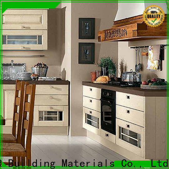 Y&R Building Material Co.,Ltd new style kitchen cabinets Supply