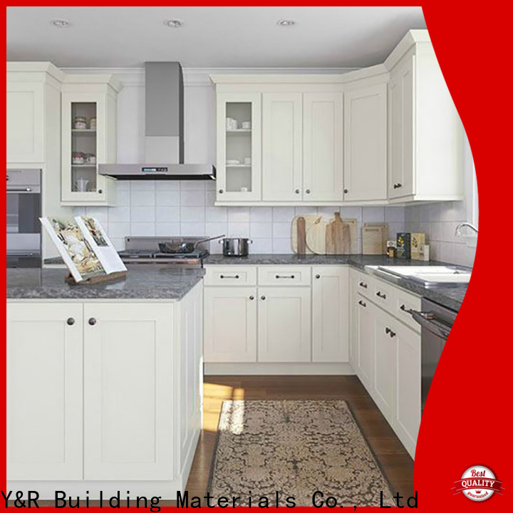 Y&R Building Material Co.,Ltd Top modern kitchen cabinets Supply