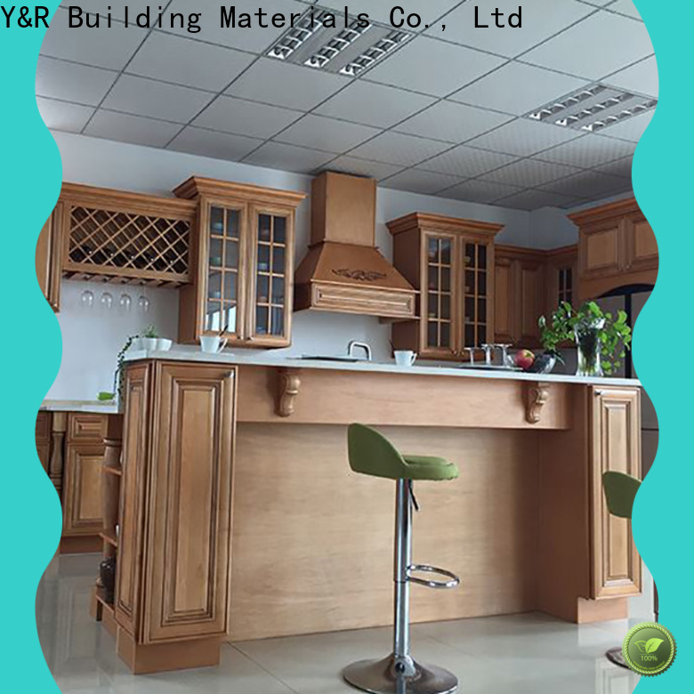 New custom made kitchen cabinets Suppliers