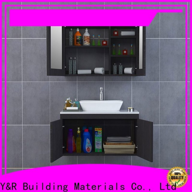 Y&R Building Material Co.,Ltd High-quality bathroom cabinet wall mounted company