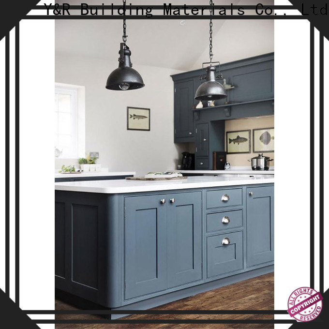 Latest best kitchen cabinets factory