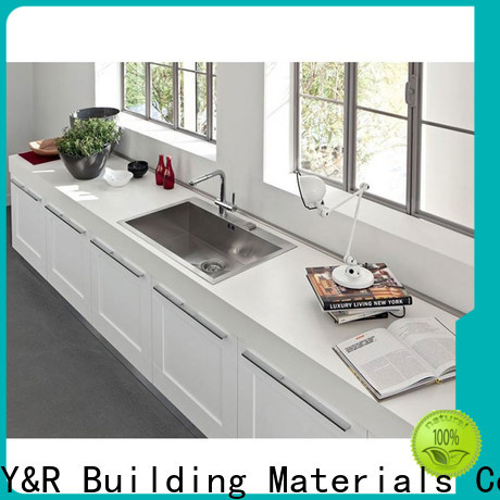 Y&R Building Material Co.,Ltd Custom modern kitchen cabinets for business