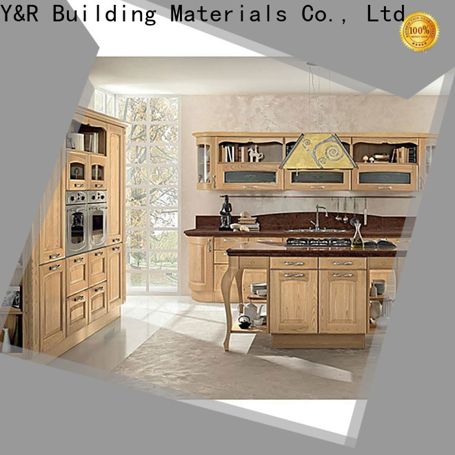 Y&R Building Material Co.,Ltd modern kitchen cabinets factory