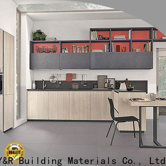 High-quality lacquer kitchen cabinet for business