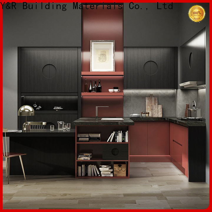 Wholesale modern kitchen cabinets factory