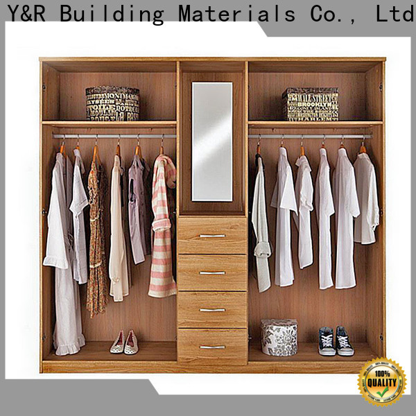 Y&R Building Material Co.,Ltd High-quality closet furniture wardrobe for business