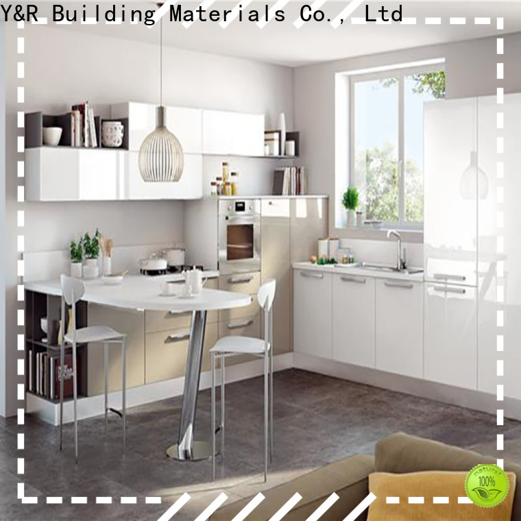 Y&R Building Material Co.,Ltd modern kitchen cabinets for business