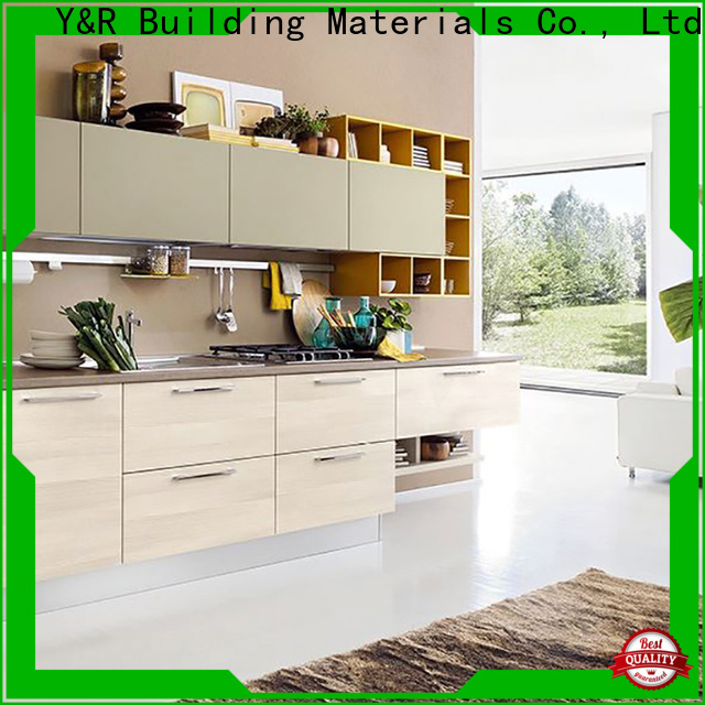 Y&R Building Material Co.,Ltd Best modern kitchen cabinets Supply