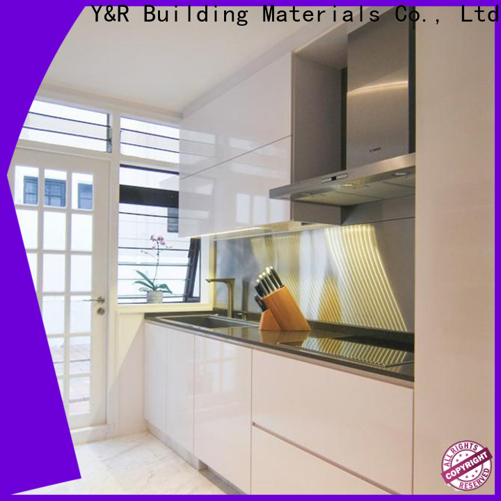 Y&R Building Material Co.,Ltd Top modern kitchen cabinets for business