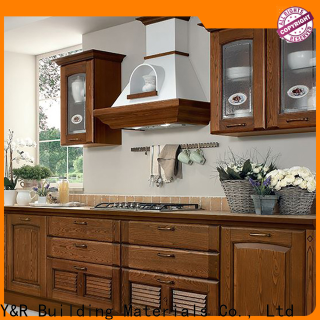 Y&R Building Material Co.,Ltd High-quality best kitchen cabinets Supply