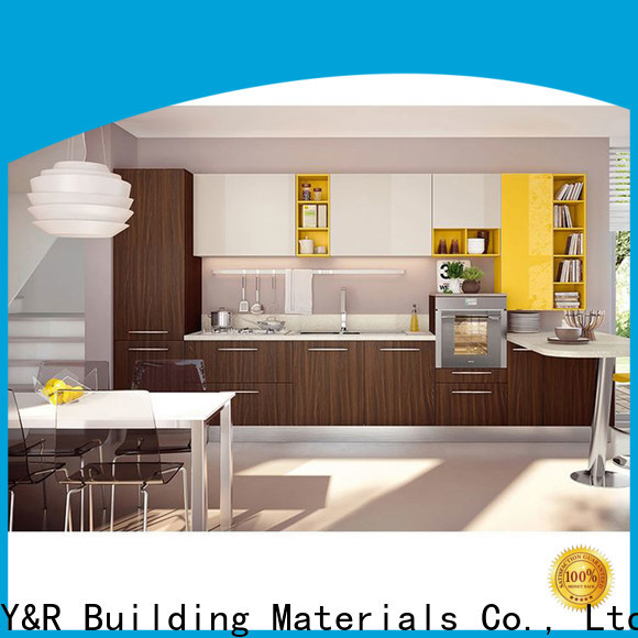 Y&R Building Material Co.,Ltd New kitchen cabinet designs lacquer for business