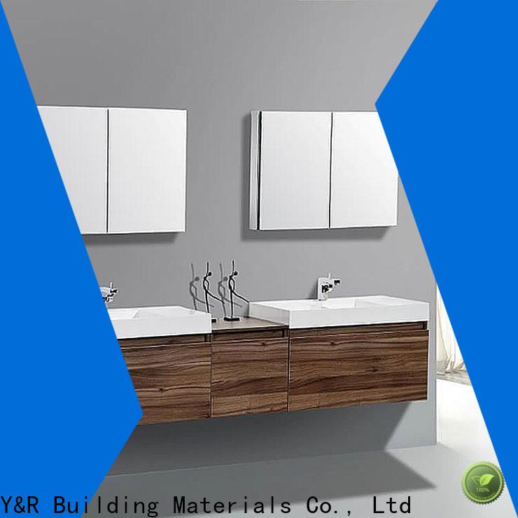 Y&R Building Material Co.,Ltd High-quality modern bathroom cabinet Supply