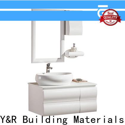 Y&R Building Material Co.,Ltd wood bathroom cabinet Supply