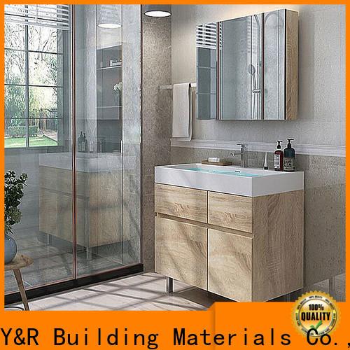 Y&R Building Material Co.,Ltd Latest custom bathroom vanities Suppliers
