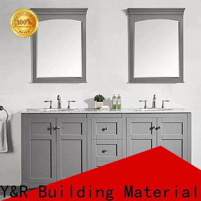 Y&R Building Material Co.,Ltd Latest bathroom cabinet with mirror Suppliers