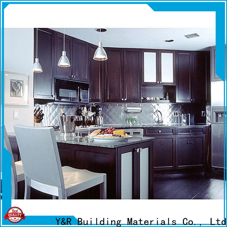 Y&R Building Material Co.,Ltd Wholesale kitchen cabinet designs lacquer company