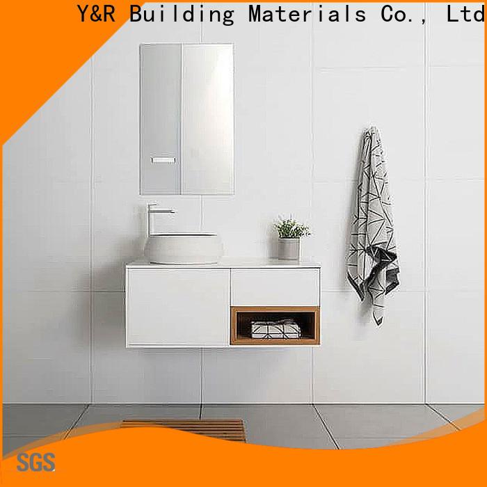 Y&R Building Material Co.,Ltd bathroom cabinet with mirror factory