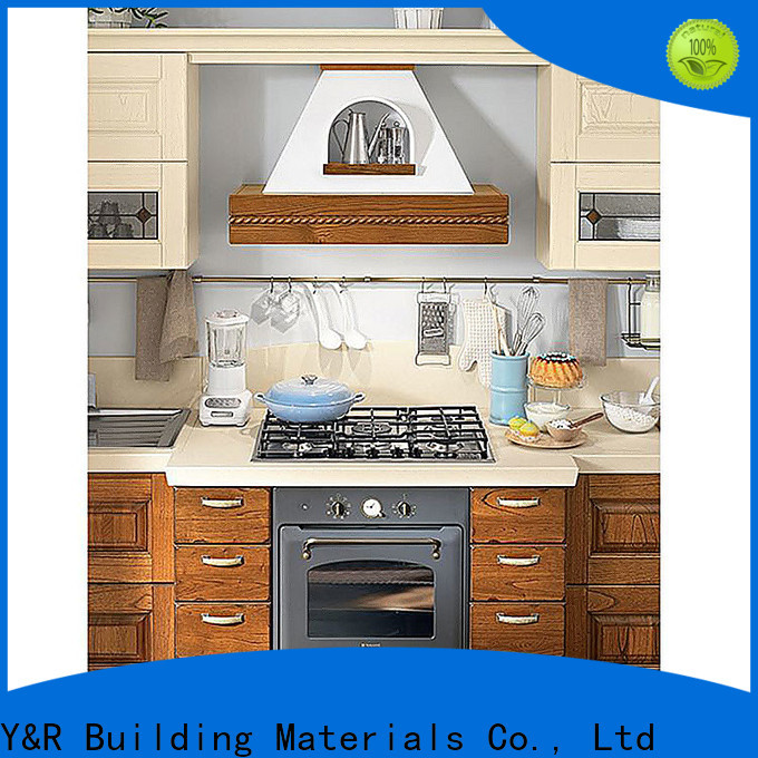 Y&R Building Material Co.,Ltd small kitchen design cabinet Supply