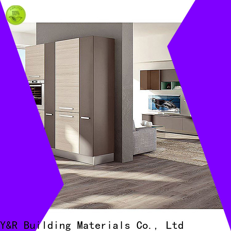 Y&R Building Material Co.,Ltd Custom small kitchen design cabinet Supply