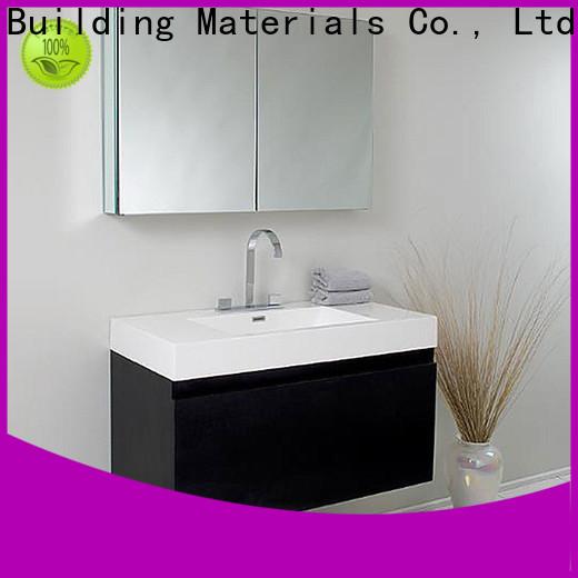 Y&R Building Material Co.,Ltd Top bathroom vanity cabinets modern factory