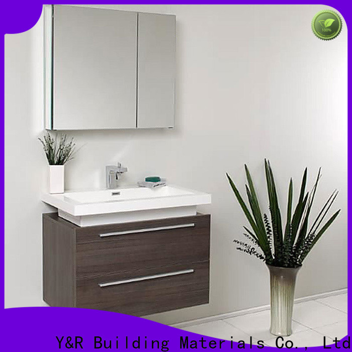 Y&R Building Material Co.,Ltd high gloss bathroom cabinet Suppliers