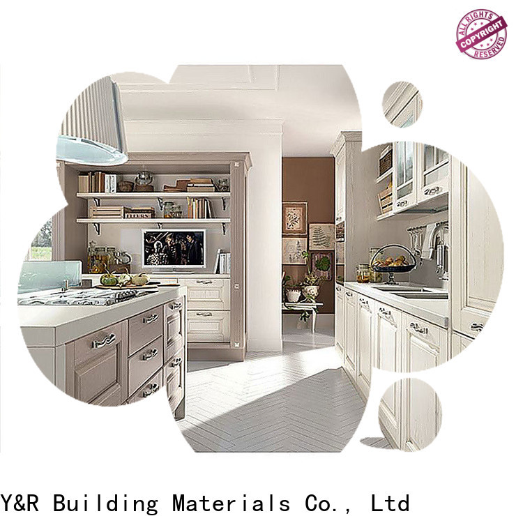 Latest furniture handle kitchen cabinet factory