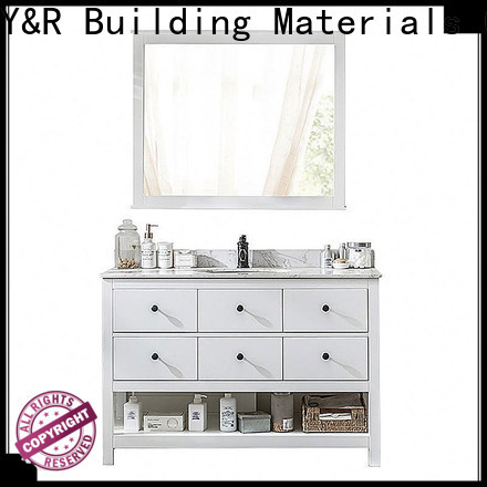 Wholesale wall hung bathroom cabinet for business