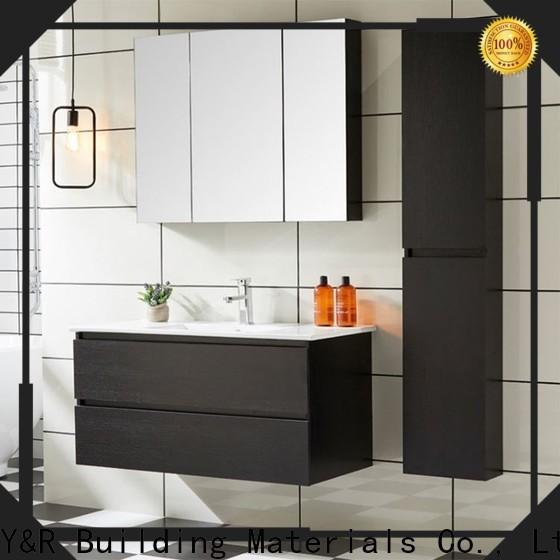Custom bathroom cabinet for business