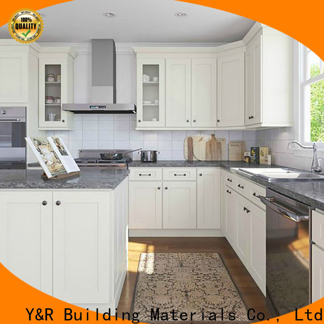 Y&R Building Material Co.,Ltd New modern kitchen cabinets factory