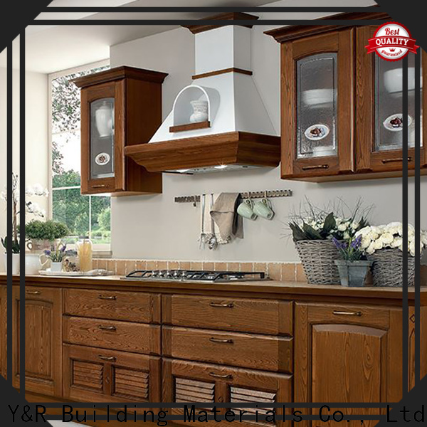 Y&R Building Material Co.,Ltd kitchen cabinet designs solid wood Suppliers