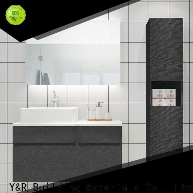 Top wall hung bathroom cabinet factory