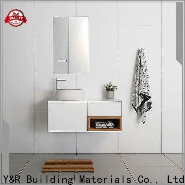 Y&R Building Material Co.,Ltd Top custom bathroom vanities for business