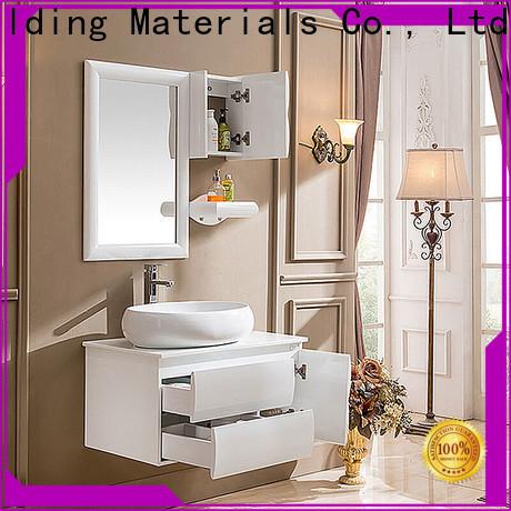 Top wood bathroom vanity Suppliers