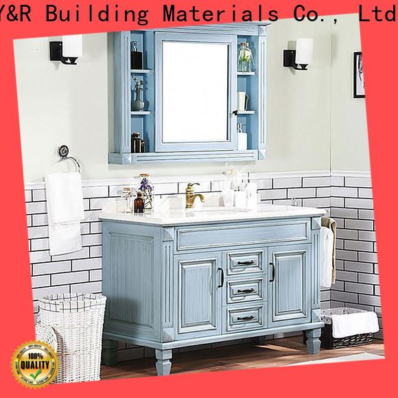 Y&R Building Material Co.,Ltd Best bathroom vanity cabinet factory