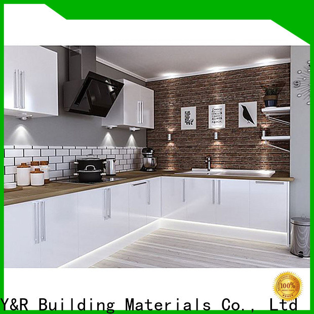 Y&R Building Material Co.,Ltd Best small_kitchen_cabinet Supply