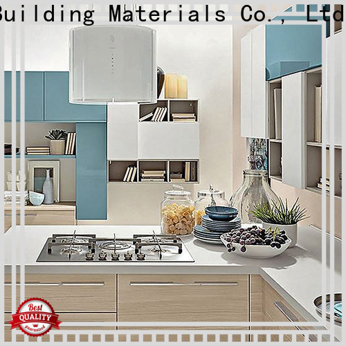 Y&R Building Material Co.,Ltd New real wood kitchen cabinet Supply