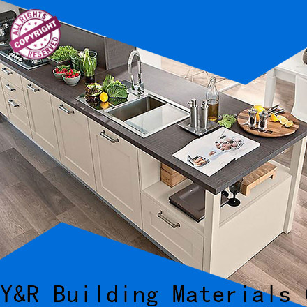 Y&R Building Material Co.,Ltd kitchen cabinet shaker white company