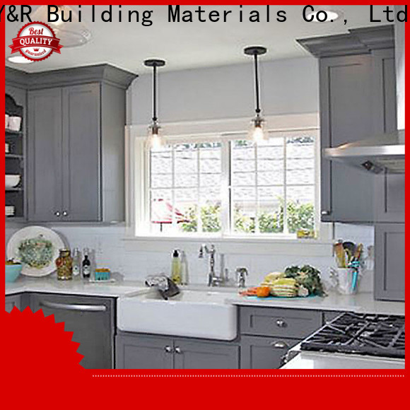 Y&R Building Material Co.,Ltd Wholesale small kitchen design cabinet factory