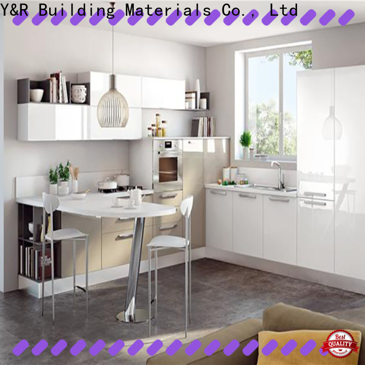 Y&R Building Material Co.,Ltd High-quality cabinet kitchen furniture factory