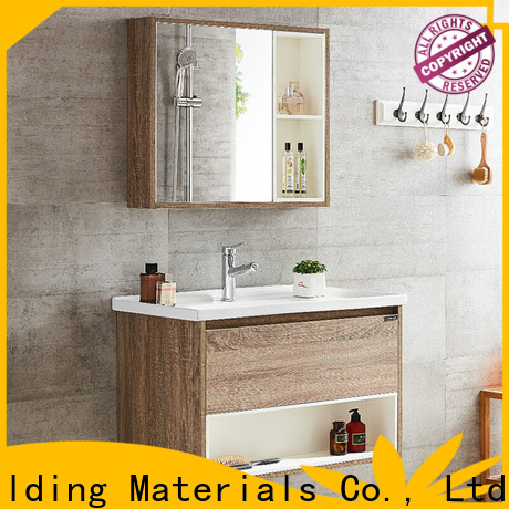 Y&R Building Material Co.,Ltd High-quality solid wood bathroom cabinet for business