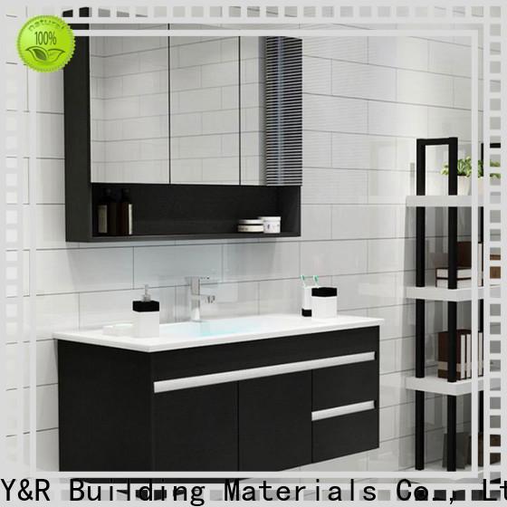 Y&R Building Material Co.,Ltd Latest bathroom storage cabinet factory