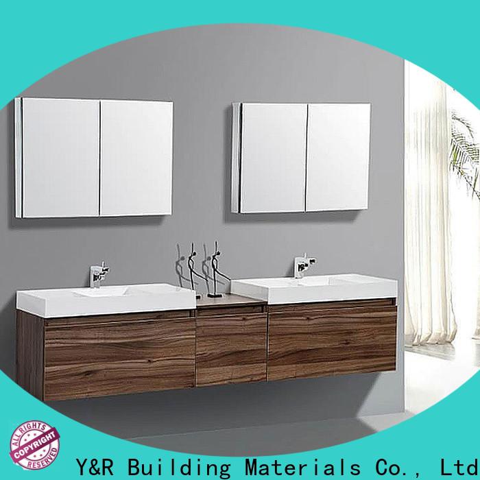 Y&R Building Material Co.,Ltd New bathroom vanity cabinet factory