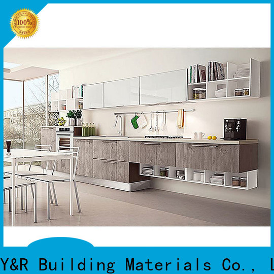 Top cabinet kitchen modern factory
