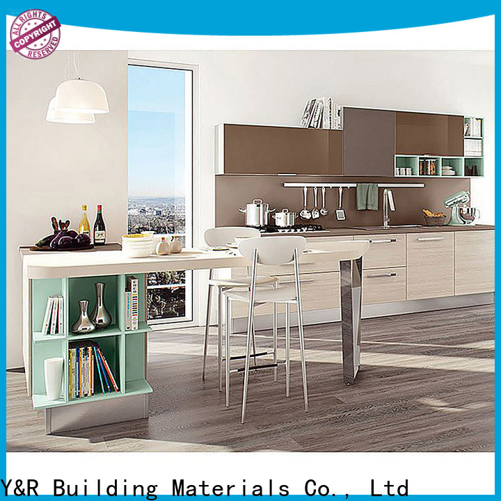 Y&R Building Material Co.,Ltd Custom kitchen cabinet designs manufacturers