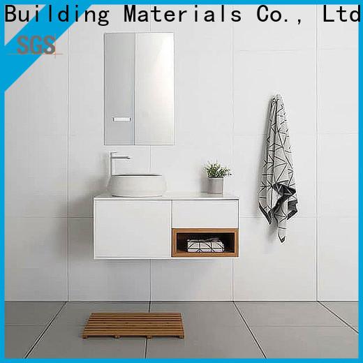 Y&R Building Material Co.,Ltd Top wall hung bathroom cabinet Supply